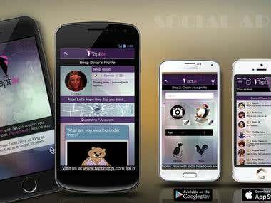 TaptIn iOS application