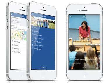 Shutterfly iOS application