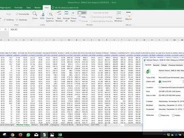 Data Entry and Data Processing Malaysia Financial Market