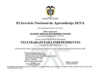 Certificaciones de estudios