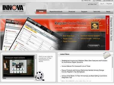 Innova website