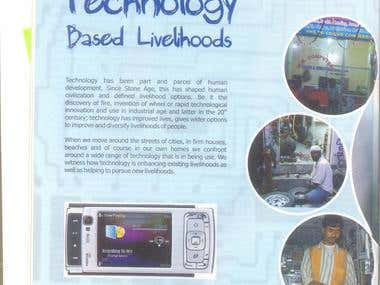 """Technology Based Livelihoods"""