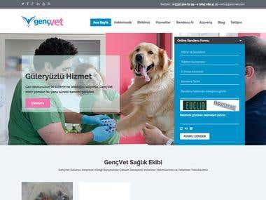 Gencvet.com - WordPress Installation Service