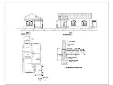 2D Auto Cad Drawing projects