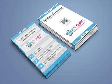 E -Commerce Business Card