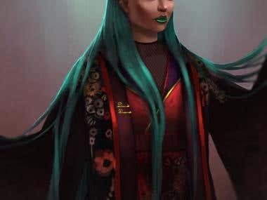 Dark Moon Goddess
