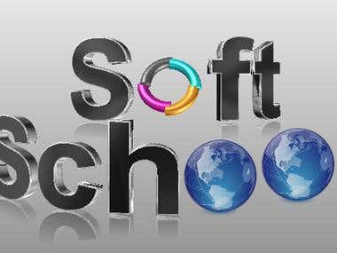 Soft School Logo Design
