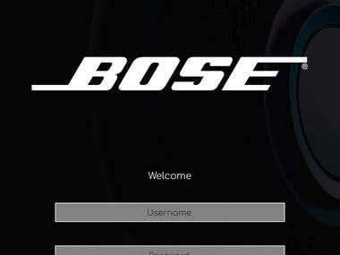 Bose Mobile App