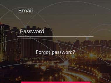 Global News Mobile App UI Design