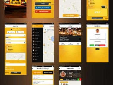 Cab /Car Booking App