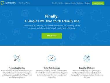 Wordpress site from PSD