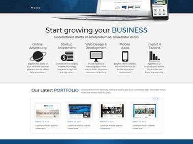 BigDnet Website Design
