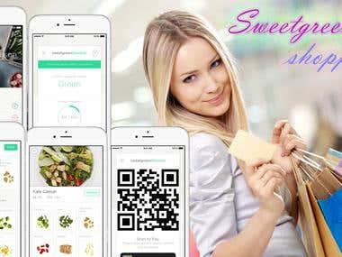 Sweetgreen iOS application