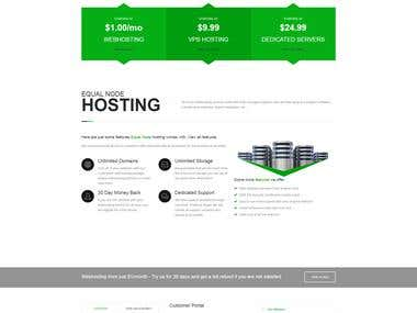 Webhosting (More Advanced)