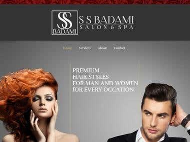 Spa & Salon Website