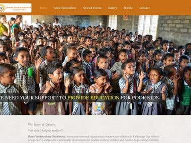 Charitable Trust Website