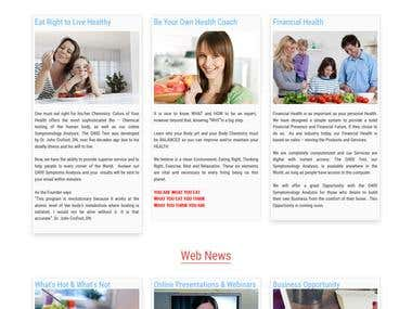 MLM- E-commerce Website