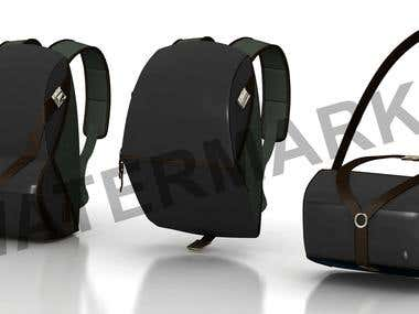 Backpack 3D Model Design