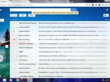 Gmail Management