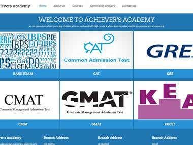 Teaching Institute Website