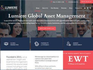 Lumiere Asset Management System