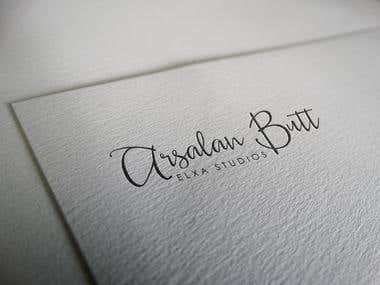 Arsalan Butt Official Logo Design