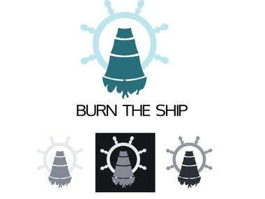 Logo for burning ships