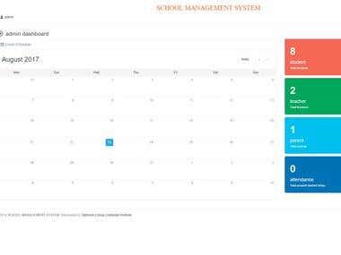 Codeigniter, School Management Application