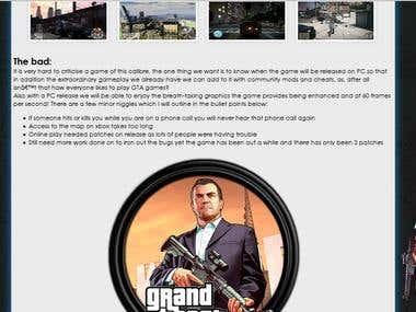 GameReviewz Website