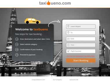 Taxi Bueno Website.