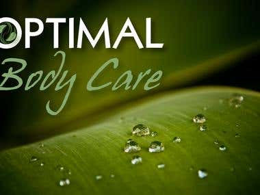 Optimal Body Care Logo and Banner Design