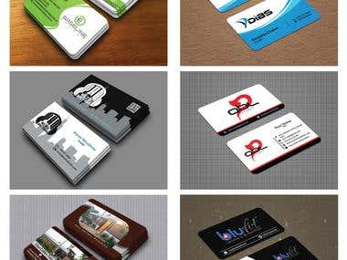 Double Sided Professional Business Card