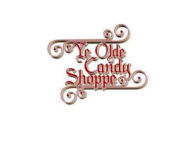 Ye Olde Candy Shoppe Concept Logo