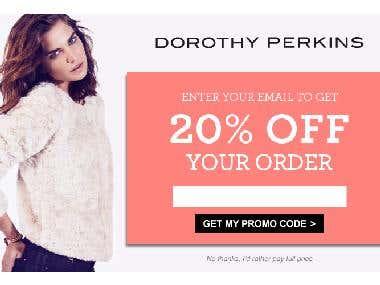 Dorothy Perkins Overlay Design