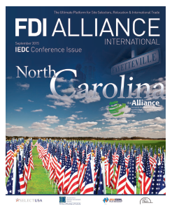 FDI Alliance - Magazine Design and Production