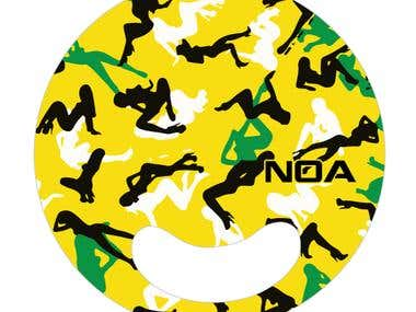 Hand Fan Designs for N.O.A