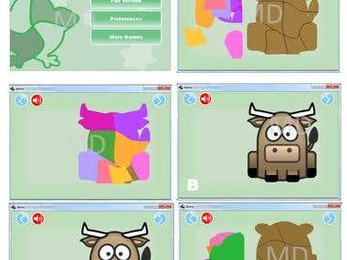 puzzle gaming app