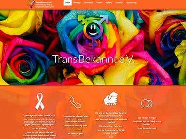 Transbekannt Vereins Webseite