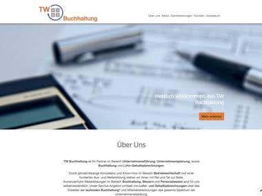 TW Buchhaltung Firmenwebseite