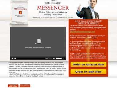 http://www.millionairemessenger.com/ Writer's Website