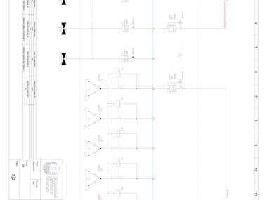 Diseño de unifilares para proyecto universitario