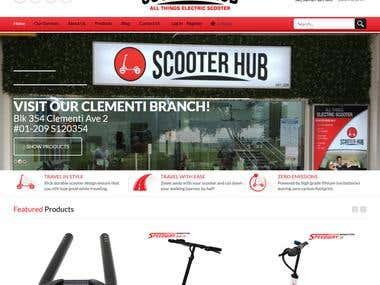 www.scooterhub.com.sg Electric scooter repair service &shop