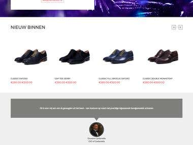 Woocommerce Website make