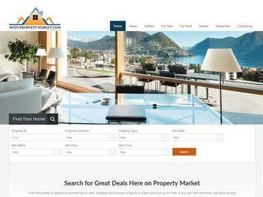 http://www.spainpropertymarket.com/ Property Listing Website