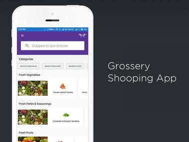 Online Grocery Store Mobile App