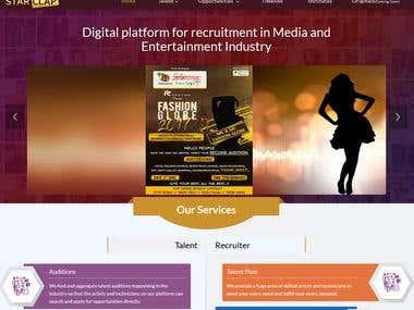 https://www.starclap.com/ Talent acquisition website
