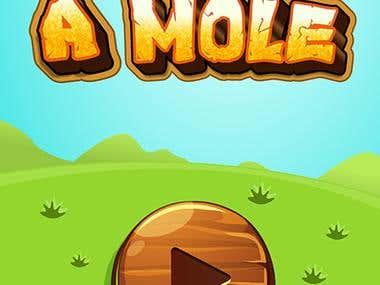 Wack A Mole, Game App Re-design