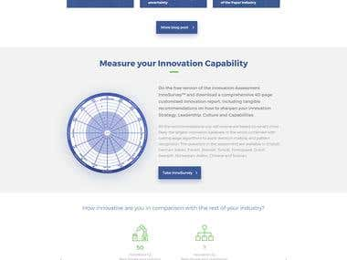 Redesign Ideation360 by Innovation mockup