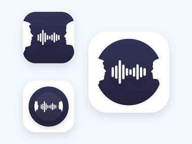 Keg App icon design
