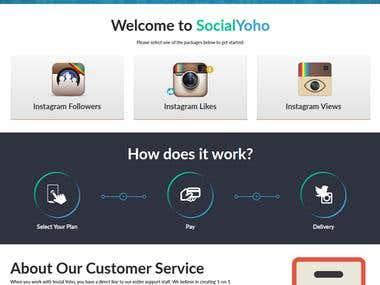 https://socialyoho.com/ for Insta followers, views& like